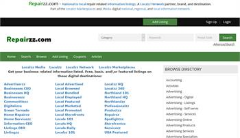 Repairzz.com - National to local repair related information listings.