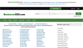 BusinessesCEO.com - National to local business related information listings.